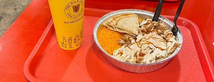 The Halal Guys is one of Locais curtidos por Heather.