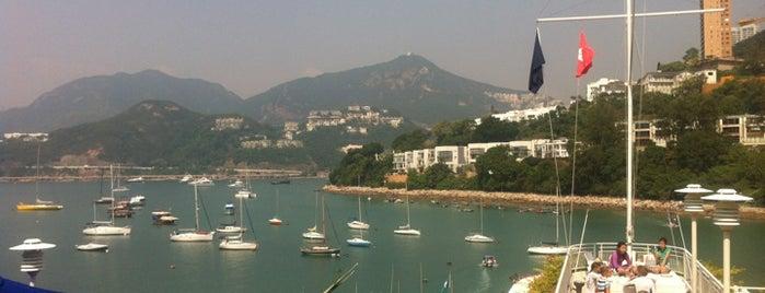 Royal Hong Kong Yacht Club is one of Tempat yang Disukai Marisa.