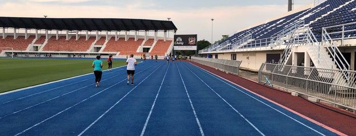 Suphan Buri Stadium is one of •S u p h a n b u r i•.