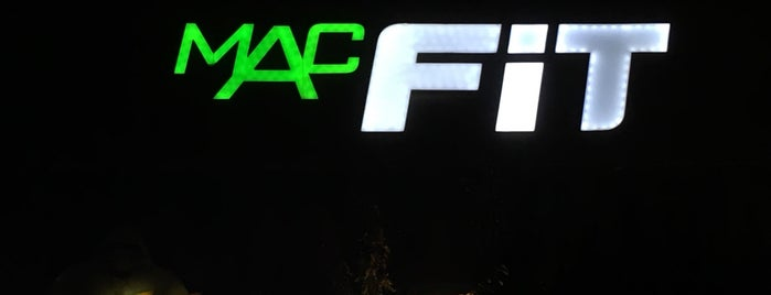 MACFit is one of Locais curtidos por Alp Gökçe.