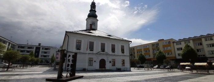 Masarykovo náměstí is one of jeseniky.