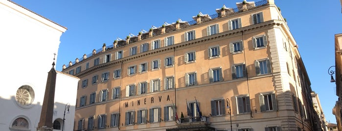 Grand Hotel de la Minerve is one of Roma.
