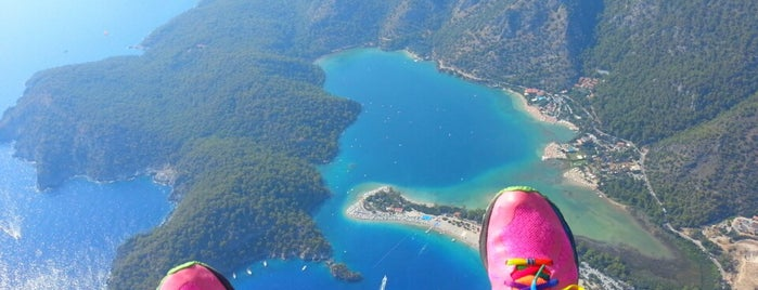 Reaction Paragliding is one of Fethiye.