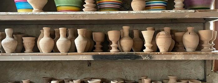 مصنع الفخار بالاحساء is one of الاحساء.