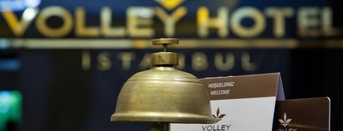 Volley Hotel İstanbul is one of Oteller.