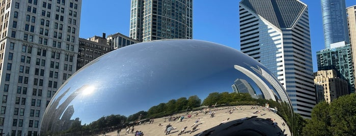 Millenium Park is one of Museums 2 Art 2.