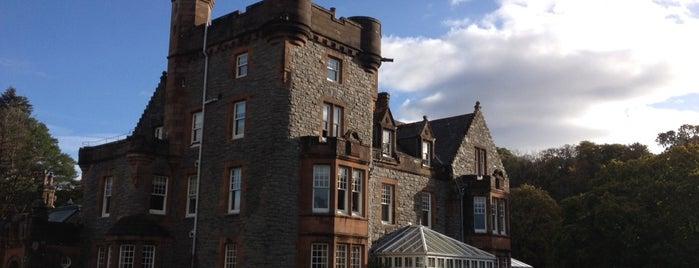 Isle of Eriska Hotel & Spa is one of Michelin.