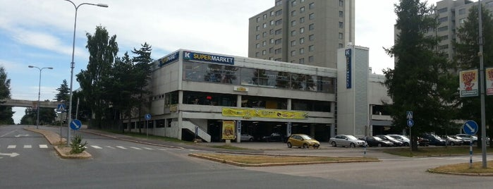 Soukan ostoskeskus is one of Ostarit.