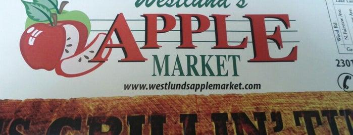 Westlund's Apple Market is one of Caryn'ın Beğendiği Mekanlar.