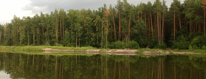 Kotsyba Lake is one of Киев.