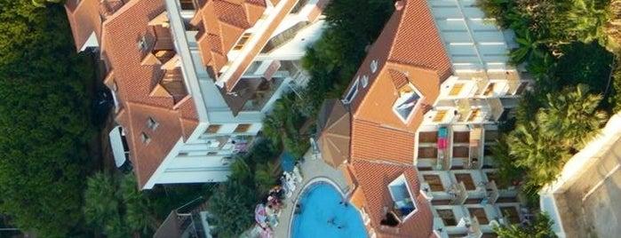 Dorian Hotel Oludeniz is one of Lugares favoritos de Yıldırım.