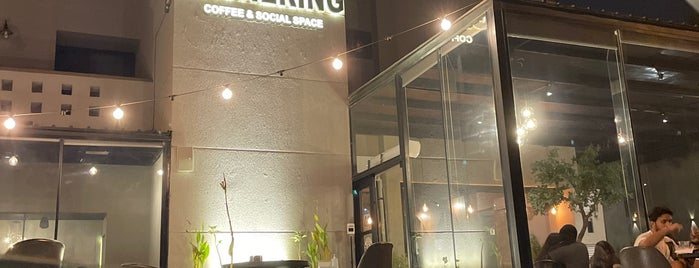 Gathering Coffee & Social Space is one of Studying.