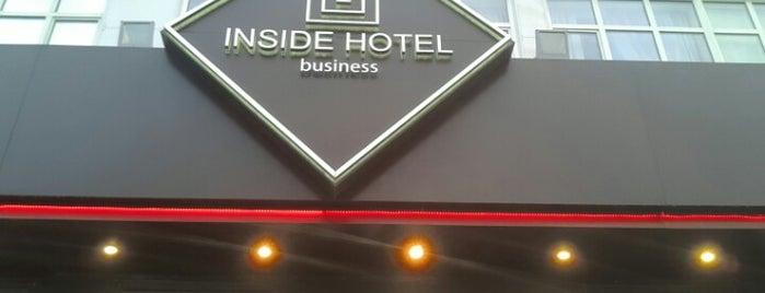 Инсайд отель / Inside Hotel is one of Lugares favoritos de Elena.