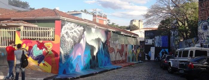 Beco do Batman is one of São Paulo.