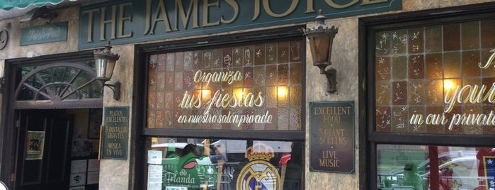 James Joyce Irish Pub is one of 🇪🇸 MAD city.