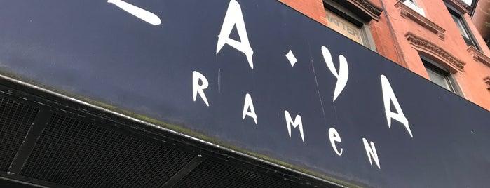 Za-Ya Ramen is one of Brooklyn.