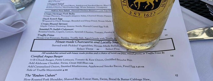 The White Horse Tavern is one of Drinking Made Easy.