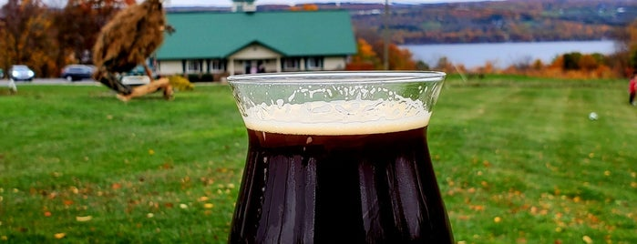 Lucky Hare Brewing is one of Seneca Lake.