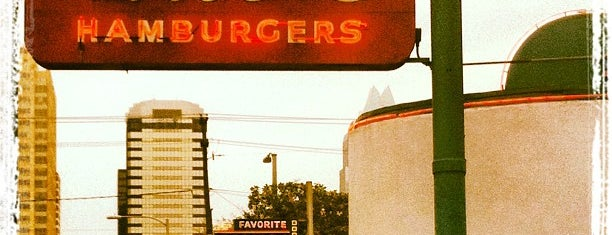 Hut's Hamburgers is one of ATX Favs.