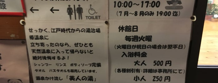 椿はなの湯温泉 is one of Posti che sono piaciuti a Shigeo.