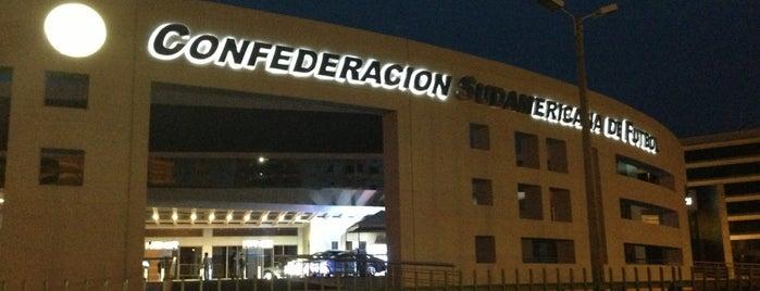 Centro de Convenciones Conmebol is one of Juanさんの保存済みスポット.