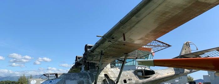 Alaska Aviation Museum is one of Tiffany 님이 저장한 장소.