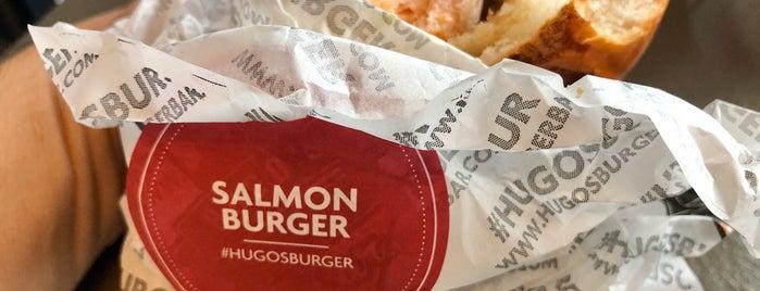 Hugo's Burger Bar is one of Mahmut : понравившиеся места.