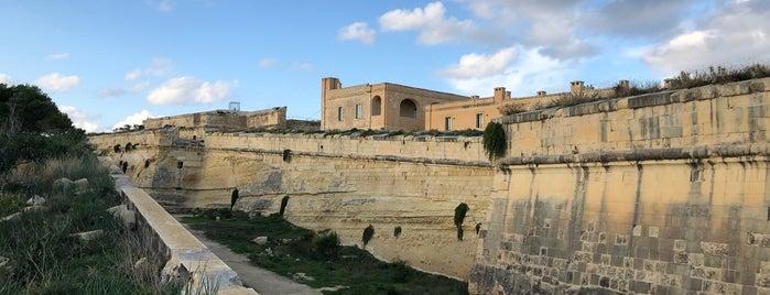 Fort Manoel is one of VISITAR Malta.