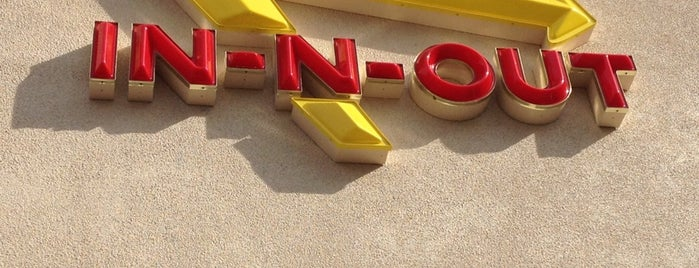 In-N-Out Burger is one of My favoite places in USA.