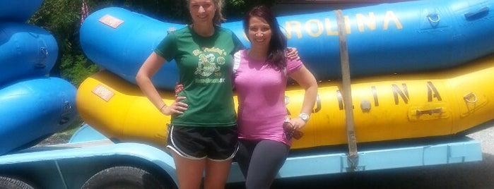 Carolina Outfitters Rafting is one of Posti che sono piaciuti a Brett.