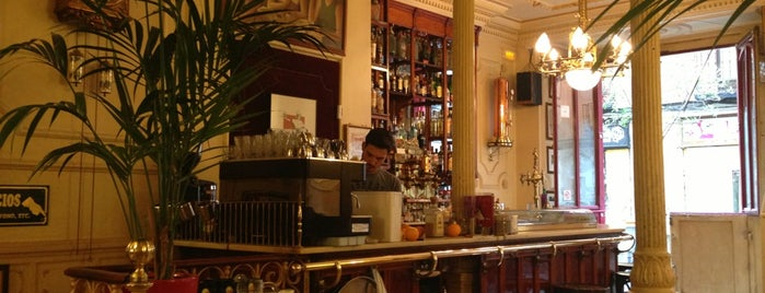 Café Manuela is one of madrid.