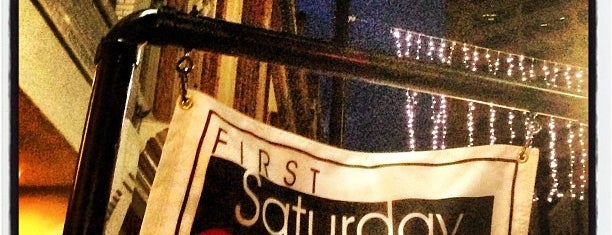 First Saturday Art Crawl is one of Nashville To-Do.