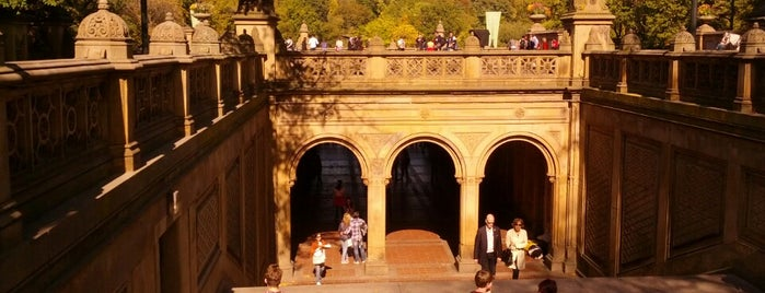Bethesda Terrace is one of New York, NY.