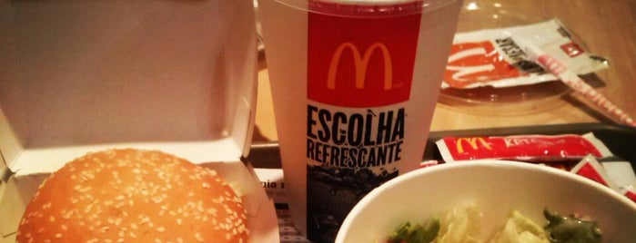 McDonald's is one of Estive aqui.