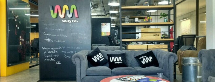 Academia Wayra Chile is one of usual places.