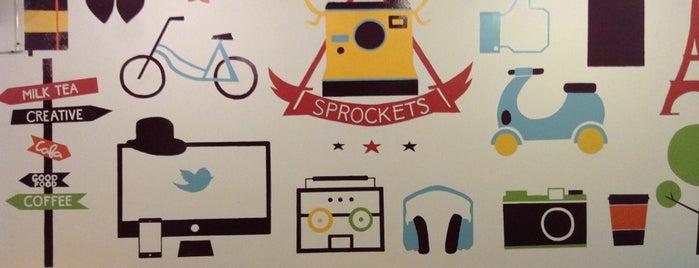 Sprockets Café is one of Posti salvati di Elaine.