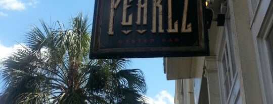 Pearlz Oyster Bar is one of Charleston.