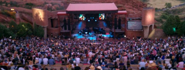 Red Rocks Park & Amphitheatre is one of Best Live Music Venues.