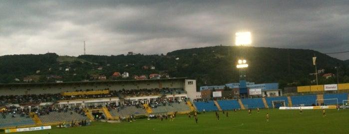 Štadión FC Lokomotíva is one of Prvoligové futbalové štadióny.