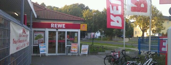 REWE is one of Orte, die Deedee gefallen.