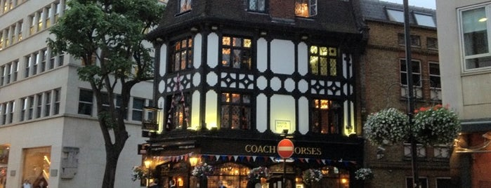 Coach & Horses is one of Sevgi 님이 저장한 장소.