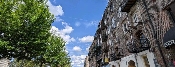 Downtown Savannah is one of Savannah, GA.