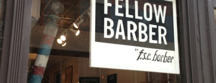 Fellow Barber is one of Gallivant NYC.