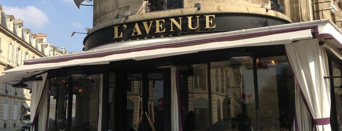 L'Avenue is one of Paris.