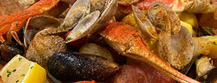 Savannah Seafood Shack is one of สถานที่ที่บันทึกไว้ของ TheDL.