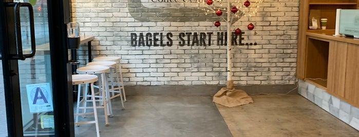 Brooklyn Bagel & Coffee Company is one of NY b4.