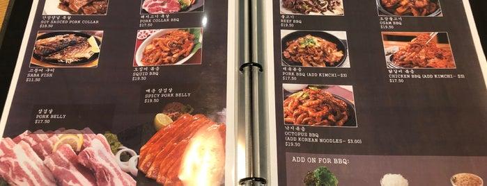 Doong Ji Korean Restaurant is one of Want To Go.