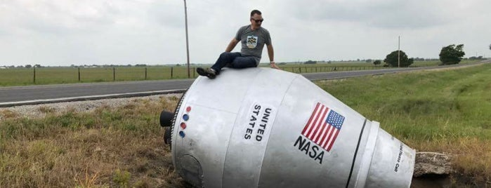 Winganon Cement Mixer Space Capsule is one of Oklahoma.