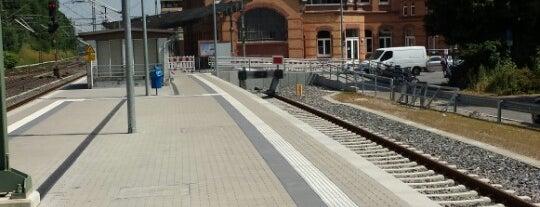 Stolberg (Rheinl) Hauptbahnhof is one of Bahnhöfe im AVV.