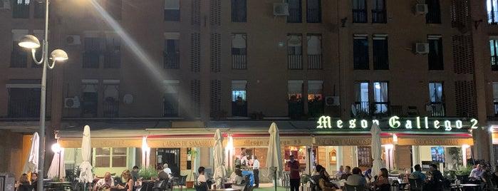 Mesón Gallego II is one of Cafeterías de Madrid.